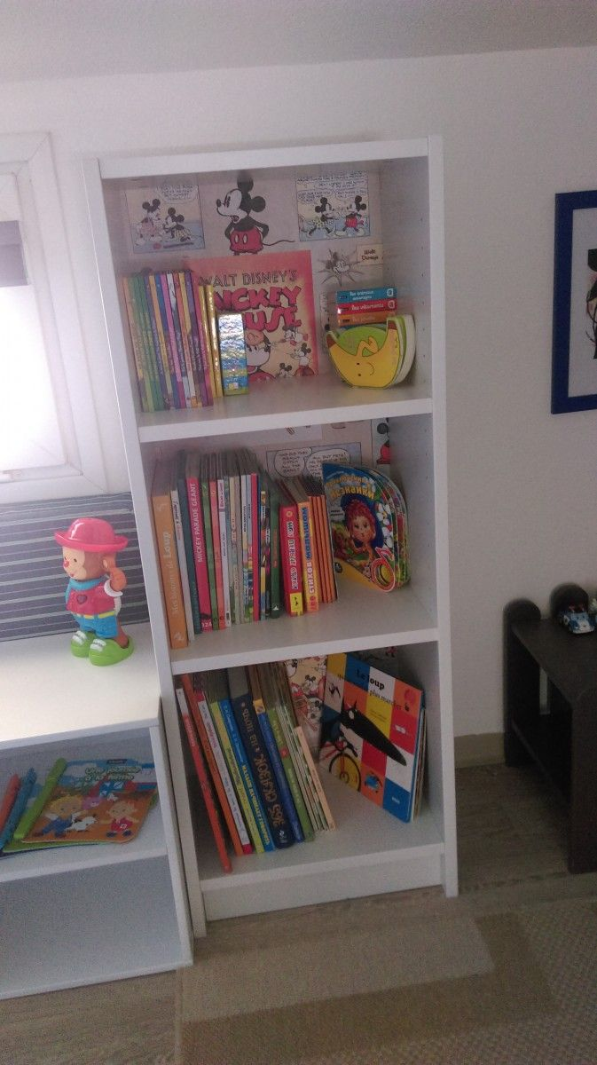 Bibliothèque Billy personnalisée pour une chambre d'enfant
