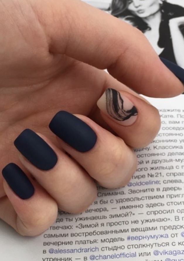 30 Fabulous Matte Nails Design For Short Nails Page 22 Of 30 Latest Fashion Trends For Woman Short Acrylic Nails Short Nail Designs Nails