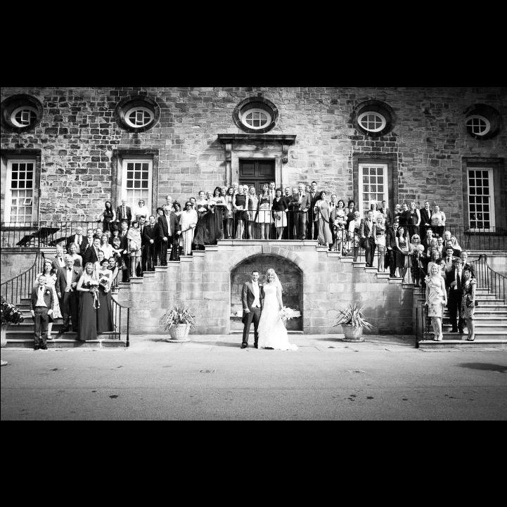 Wedding (family wedding photo) Castle