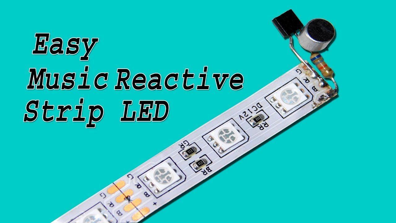 Music Reactive LED Strip Make Very Easy Led, Led strip