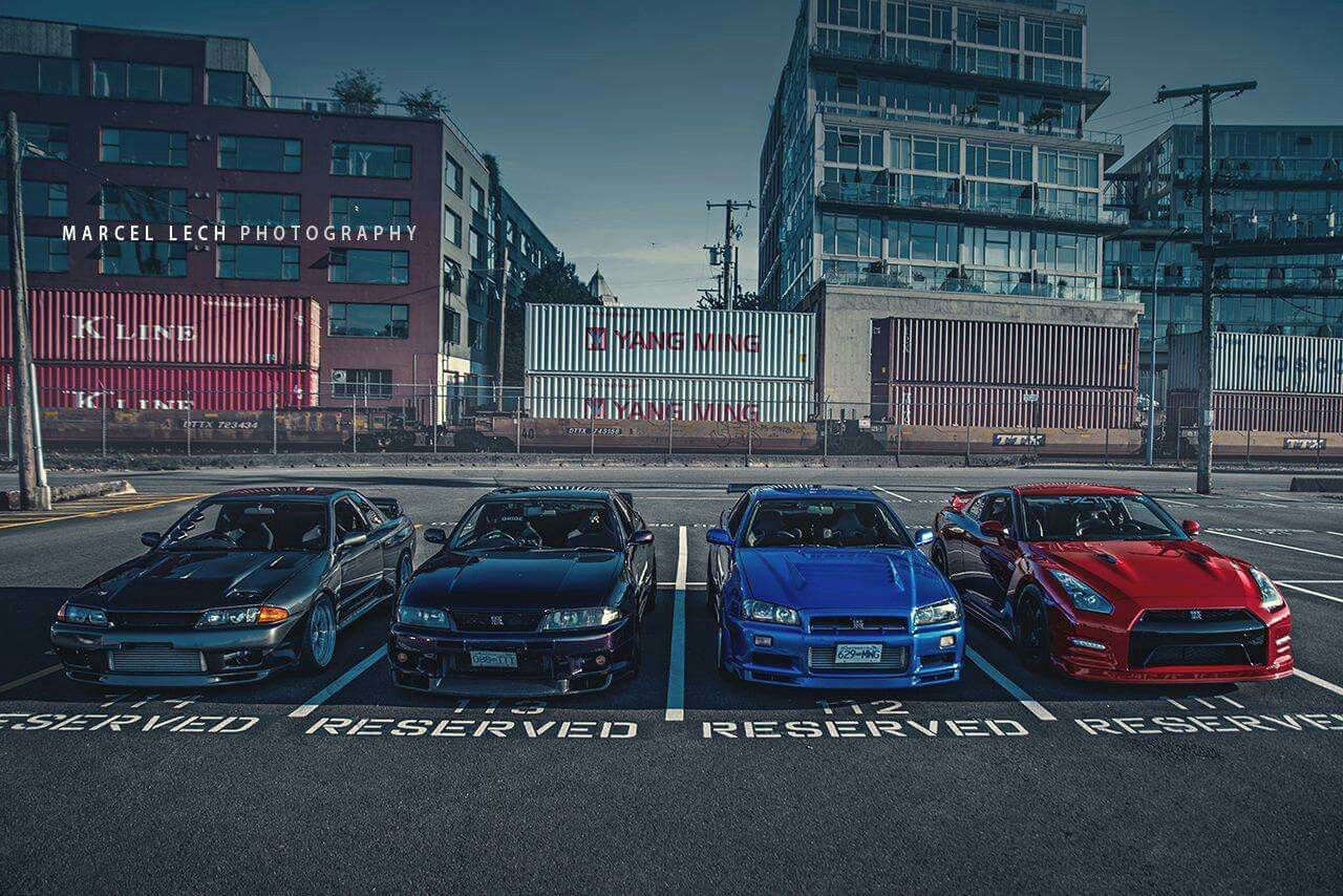 GTR Family | Nissan skyline gtr r32, Nissan gtr skyline ...