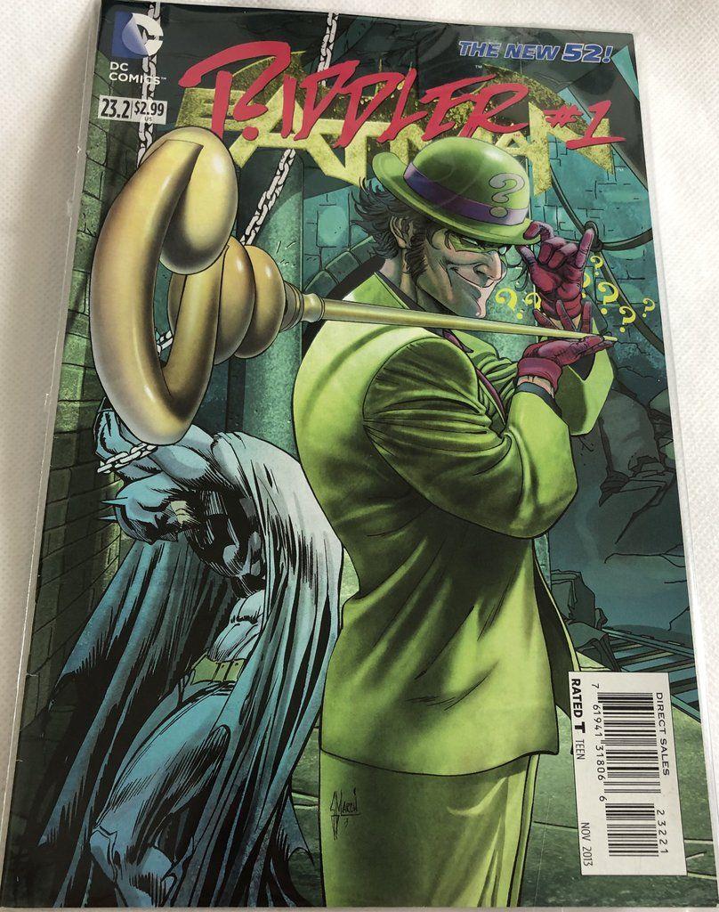 The New 52! Riddler 1 DC 23.2 Riddler, New 52, Dc comics