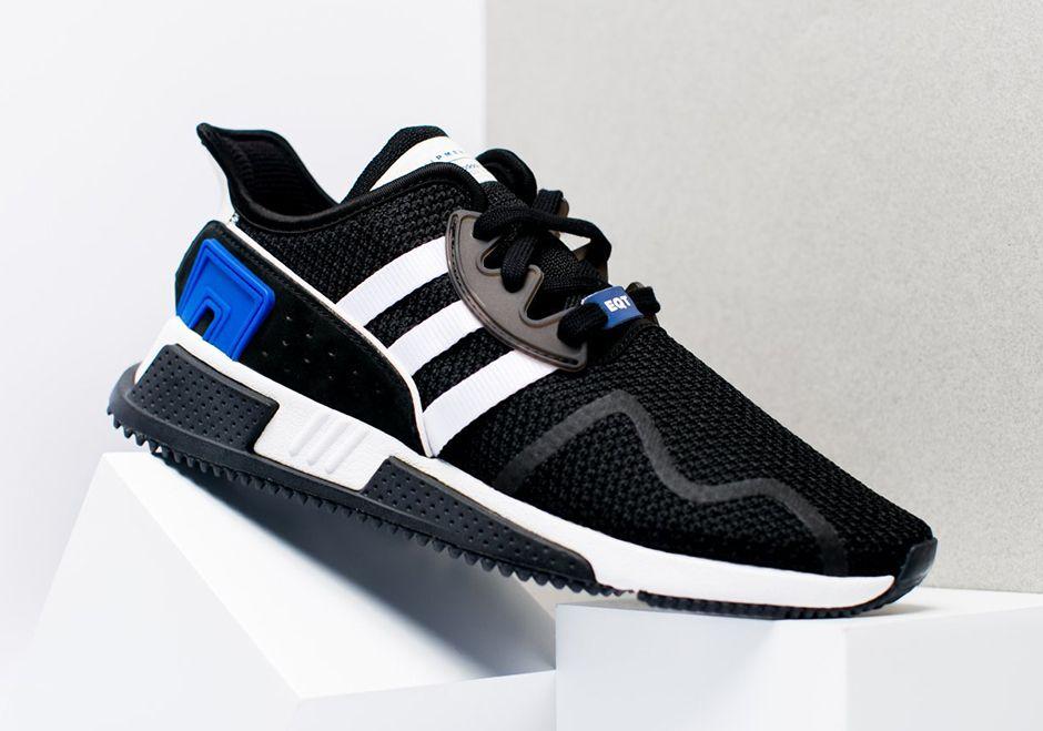 Zapatillas adidas EQT noticias cojin ADV aparece en negro y real