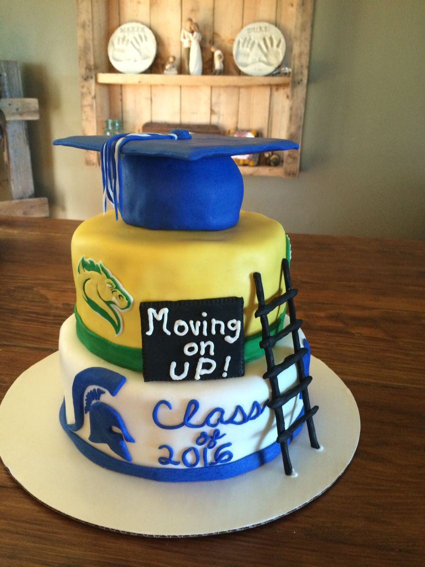 Graduation Cake High School Moving On Up To College With Images