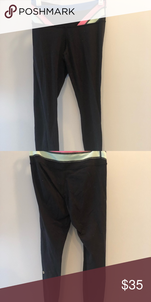 dc5de6acf7 There is some pilling on the inner thighs, but overall good condition.  lululemon athletica Pants Leggings. Lululemon Leggings- Size 4 ...