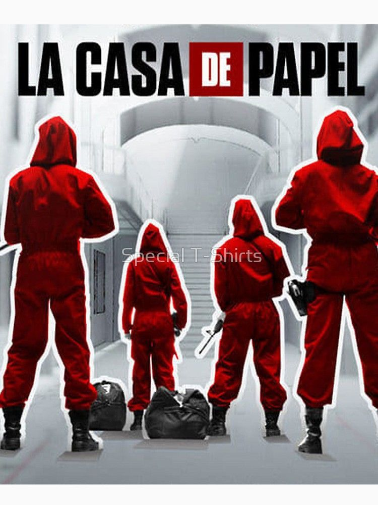 La Casa De Papel By Fabiovieira Netflix Series Tv Series Netflix
