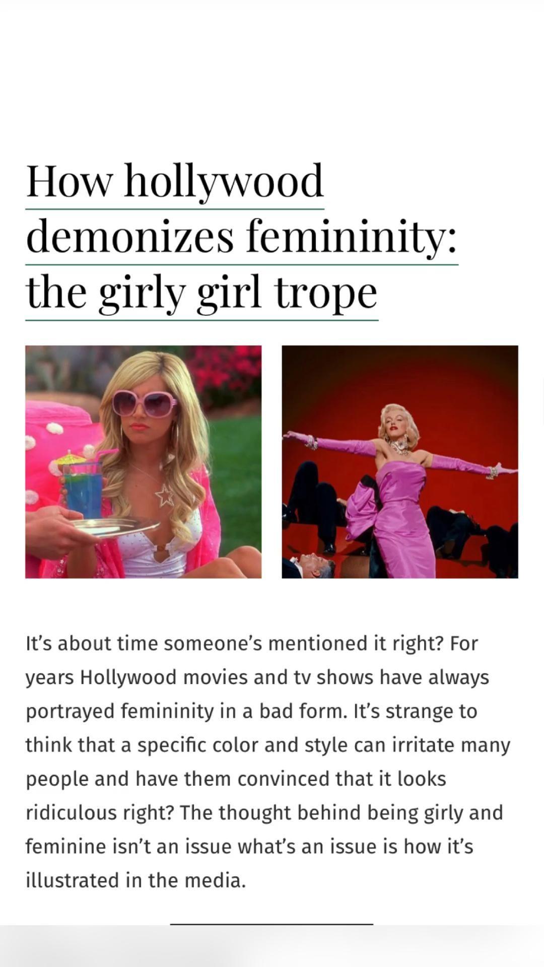 How Hollywood demonizes femininity: