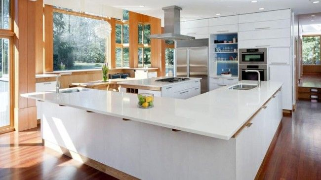 13 cocinas modernas y luminosas Cocina moderna, Moderno y Cocinas