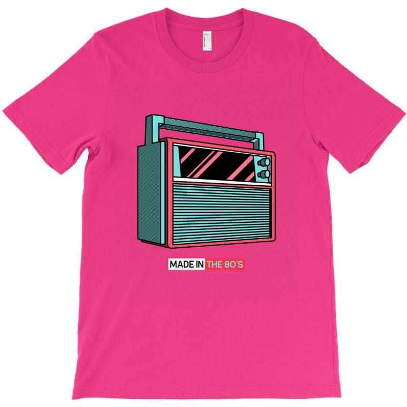 80s T Shirt Design Maker With An Audio Device Illustration 602b El1 T Shirt T Shirt Design Maker Shirt Designs Tshirt Designs