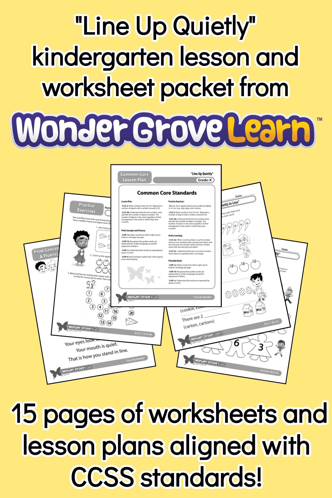 small resolution of Kindergarten school readiness worksheets from WonderGrove!   Kindergarten  lessons