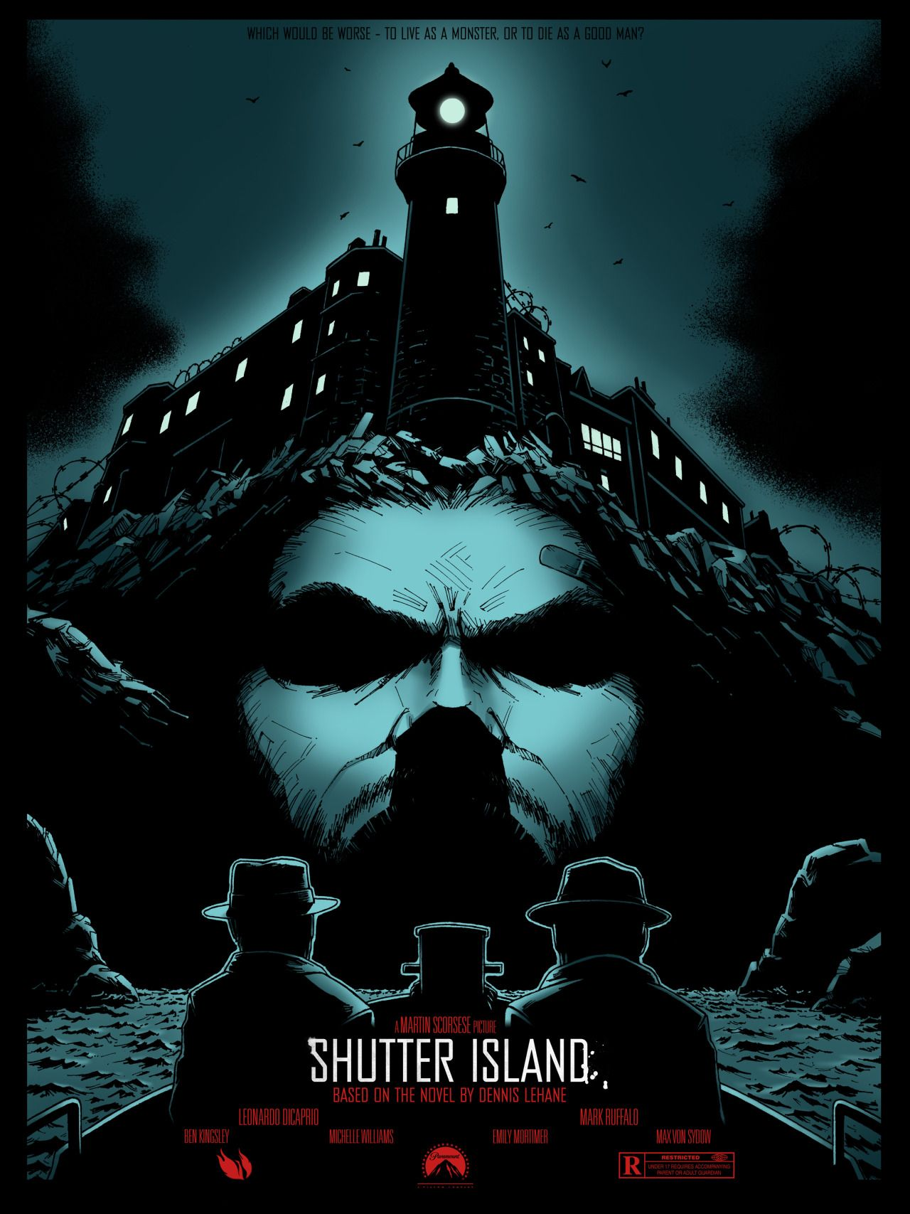 Shutter Island Shutter island, Shutter island film, Poster