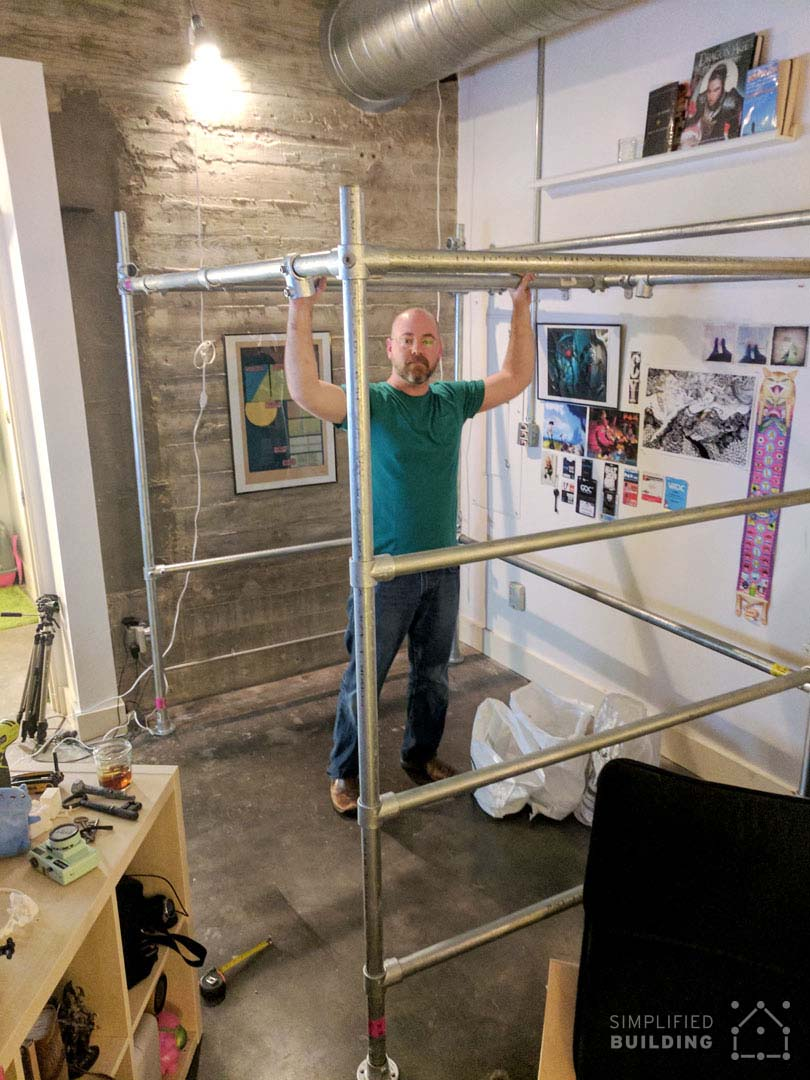 DIY FullSize Loft Bed for Adults (with Plans to Build