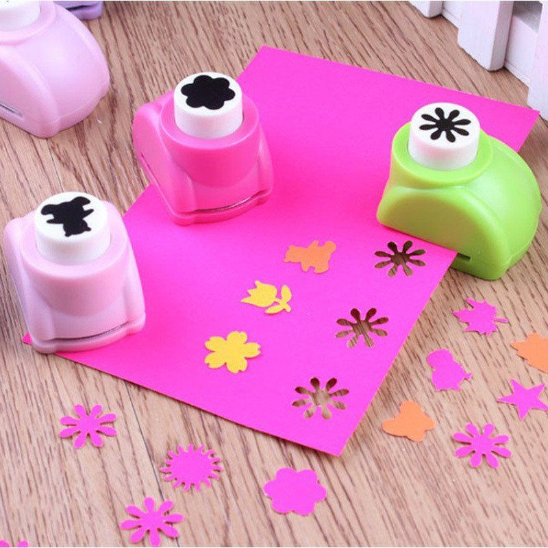 1 PCS 8 Styles Kid Child Mini Printing Paper Hand Shaper Scrapbook Tags Cards Craft DIY Punch Cutter Tools Hot Sale