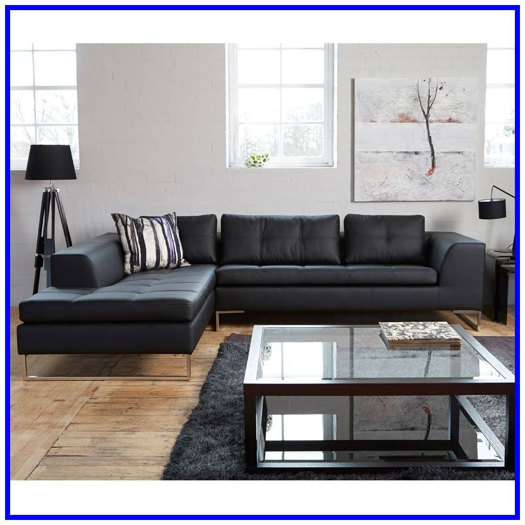 38 Reference Of Modern Living Room Ideas With Black Leather Sofa In 2020 Black Sofa Living Room Black Couch Living Room Decor Black Sofa Living Room Decor