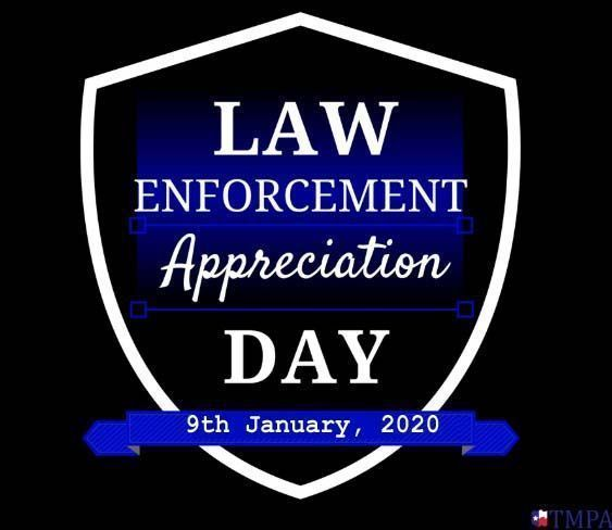 National Law Enforcement Appreciation Day 2020 (9th January) - Technewssources.c...