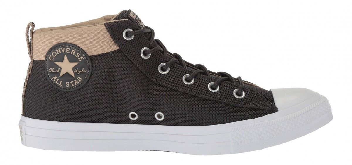 b0db889148bb Converse Chuck Taylor All Star Street Mid Almost Black Vintage Khaki ...