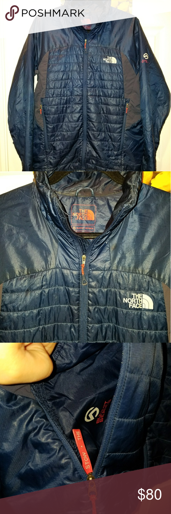 North Face Summit Series Primaloft Jacket Medium Mens Used Has Smal Tear In Back Will Need Repair Packable Ultra Li Fashion Clothes Design North Face Jacket [ 1740 x 580 Pixel ]