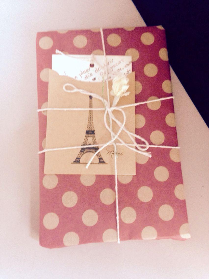 Envoltura para regalar un libro | Gift | Pinterest | Regalar y Libros
