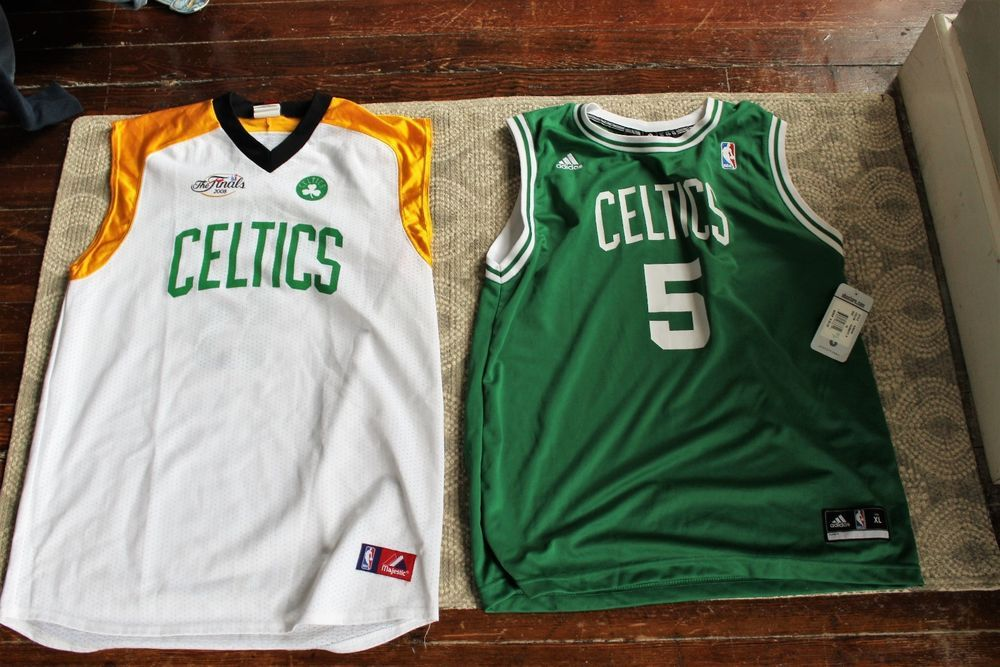 3b074f0580 BOSTON CELTICS ADIDAS/NBA MAJESTIC MIX LOT GARNETT 2008 FINALS JERSEY SIZE  XL #Majestic #BostonCeltics