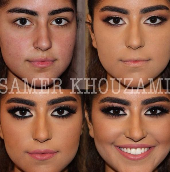 Before And After Makeup Beauty The Magic That Is Make Up