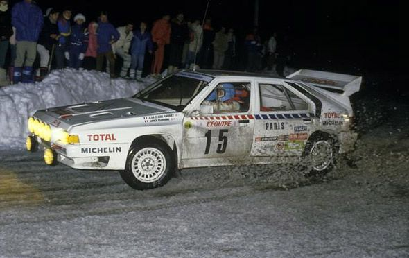 Citroen Group B cars were quite ugly