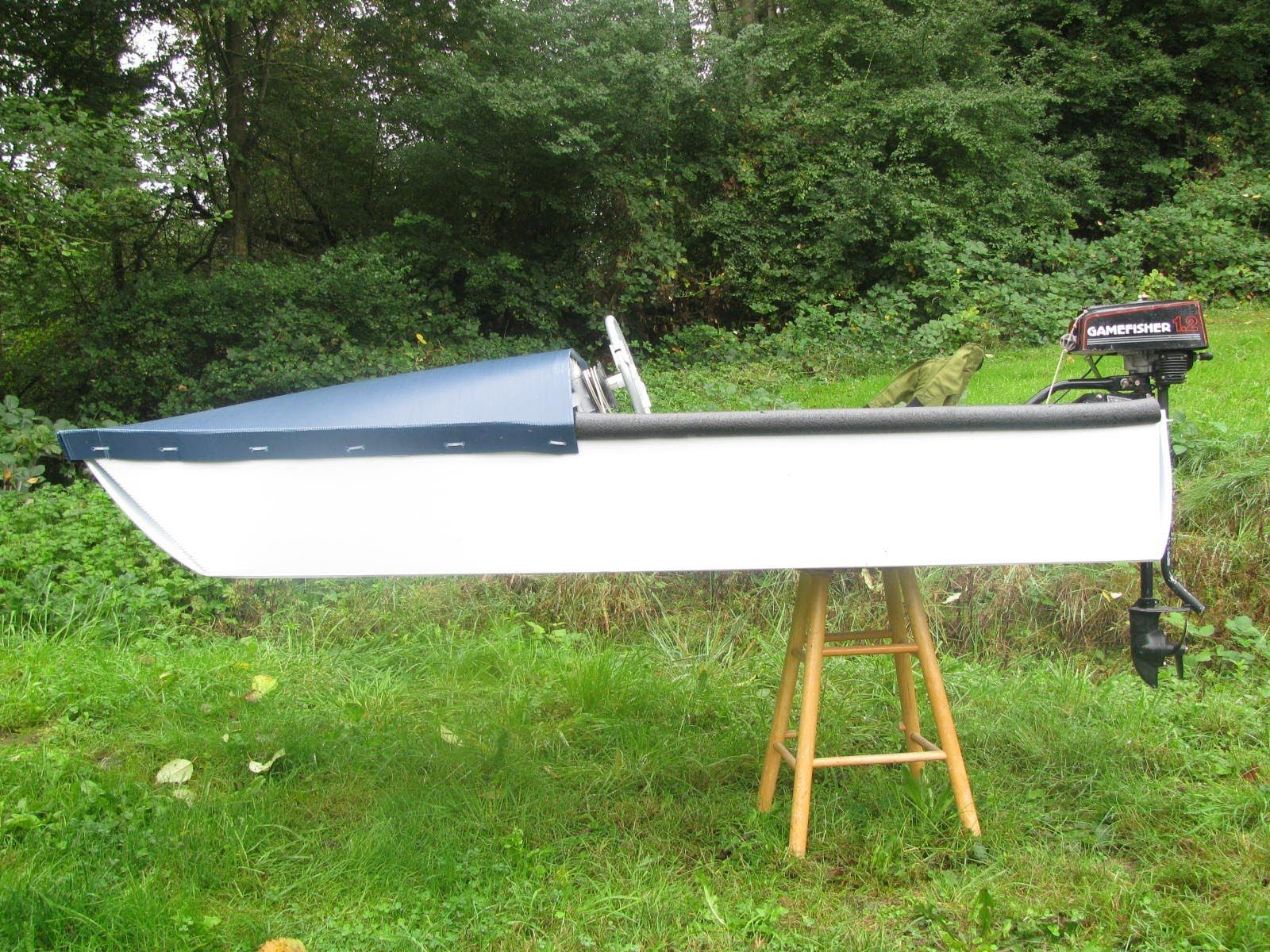 1 Sheet Coroplast Motorboat Wood Boat Plans Wooden Boat Building Wooden Boat Plans