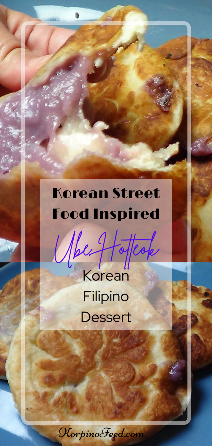 Hotteok With Ube And Coconut Korpino Feed A Side Of Recipes Recipe Coconut Recipes Recipes Hotteok Recipe