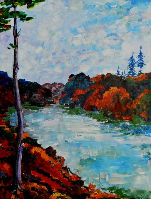 Autumn Landscape Painting-what an impression!