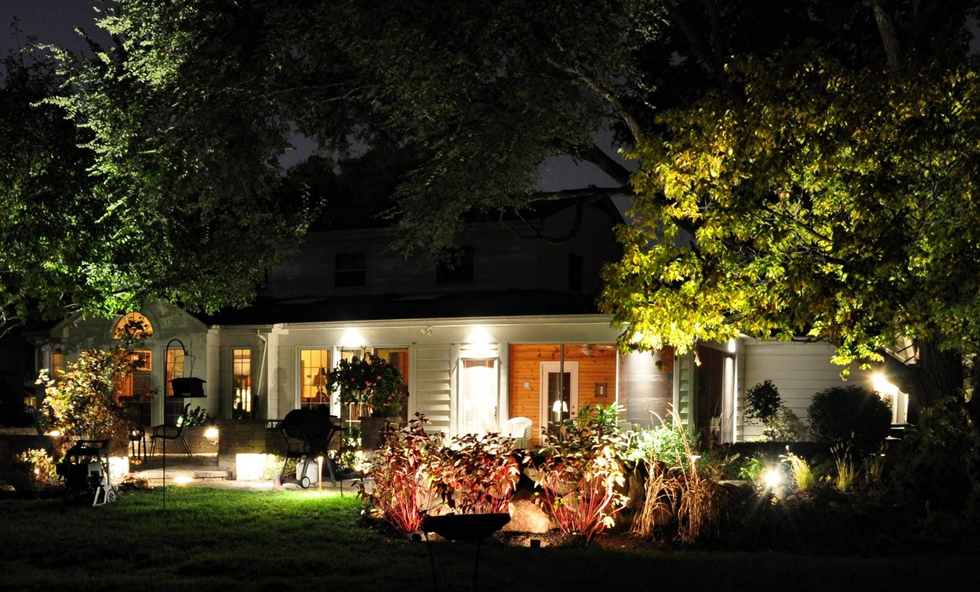 outdoor landscape lighting ideas illuminate your garden to give it a festive appearance click for - Landscape Lighting Design Ideas