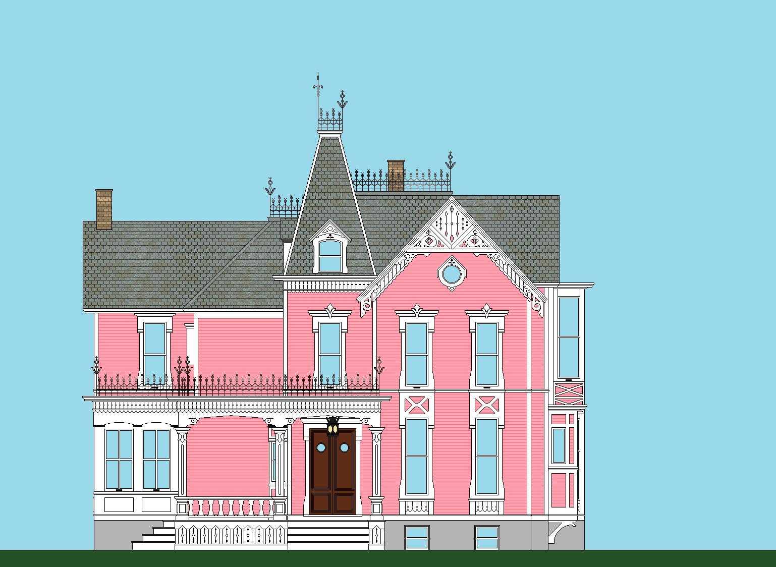 Queen Anne House - Imageck | victorian exterior colors | Pinterest ...