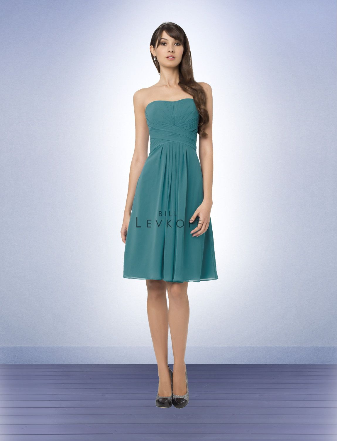 Bridesmaid Dress Style 765 in teal. this is the exact dress and ...