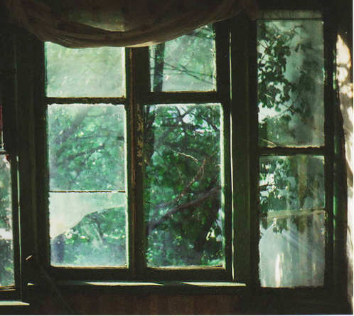A window to the outside.