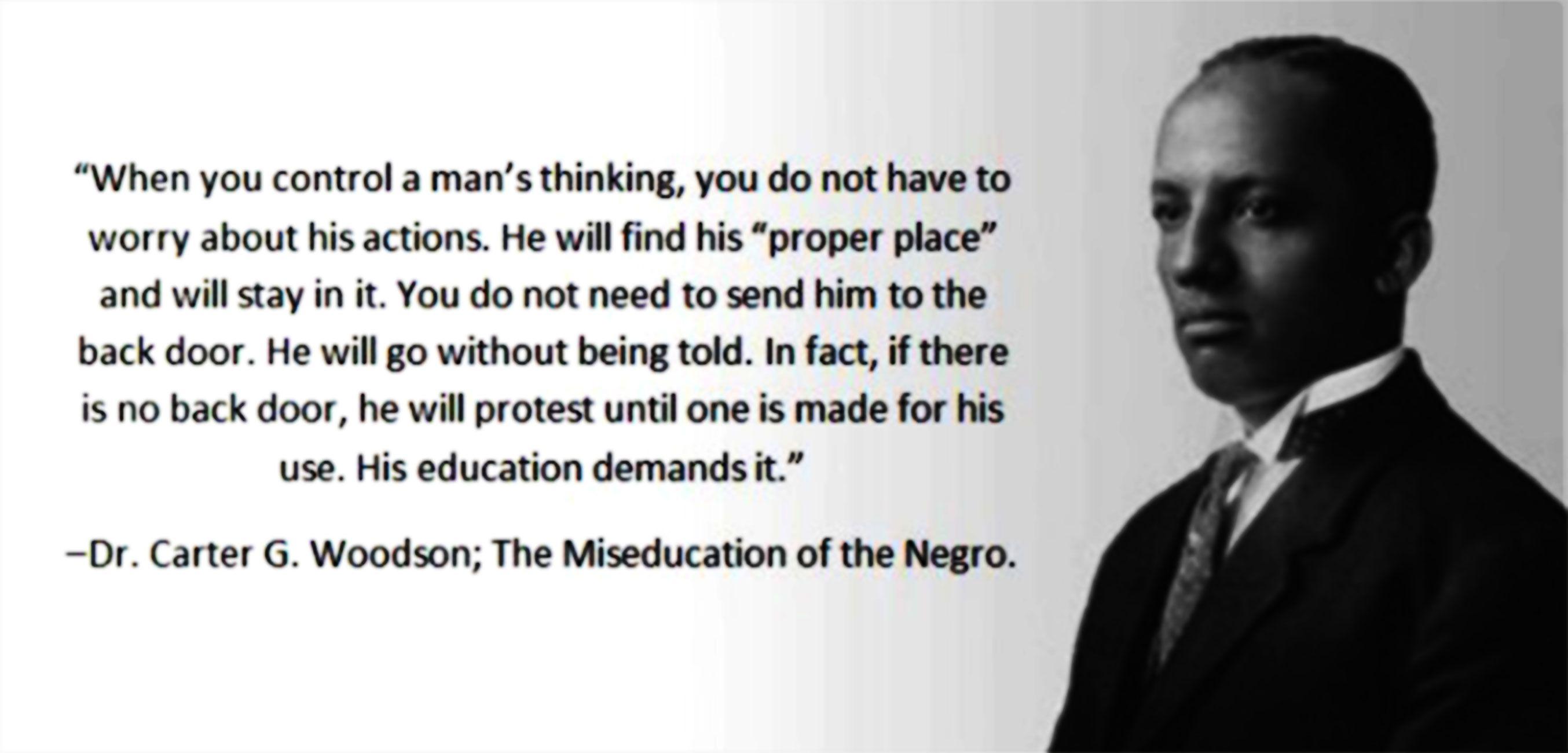 Carter Woodson Black History Month