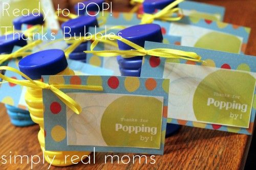 Ready To Pop Baby Shower With Free Printables For The Home Pop
