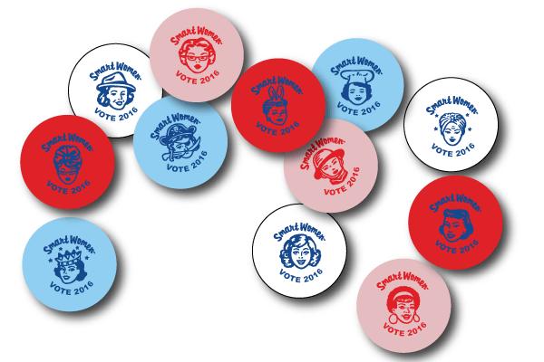 VOTE 2016 Pin Set