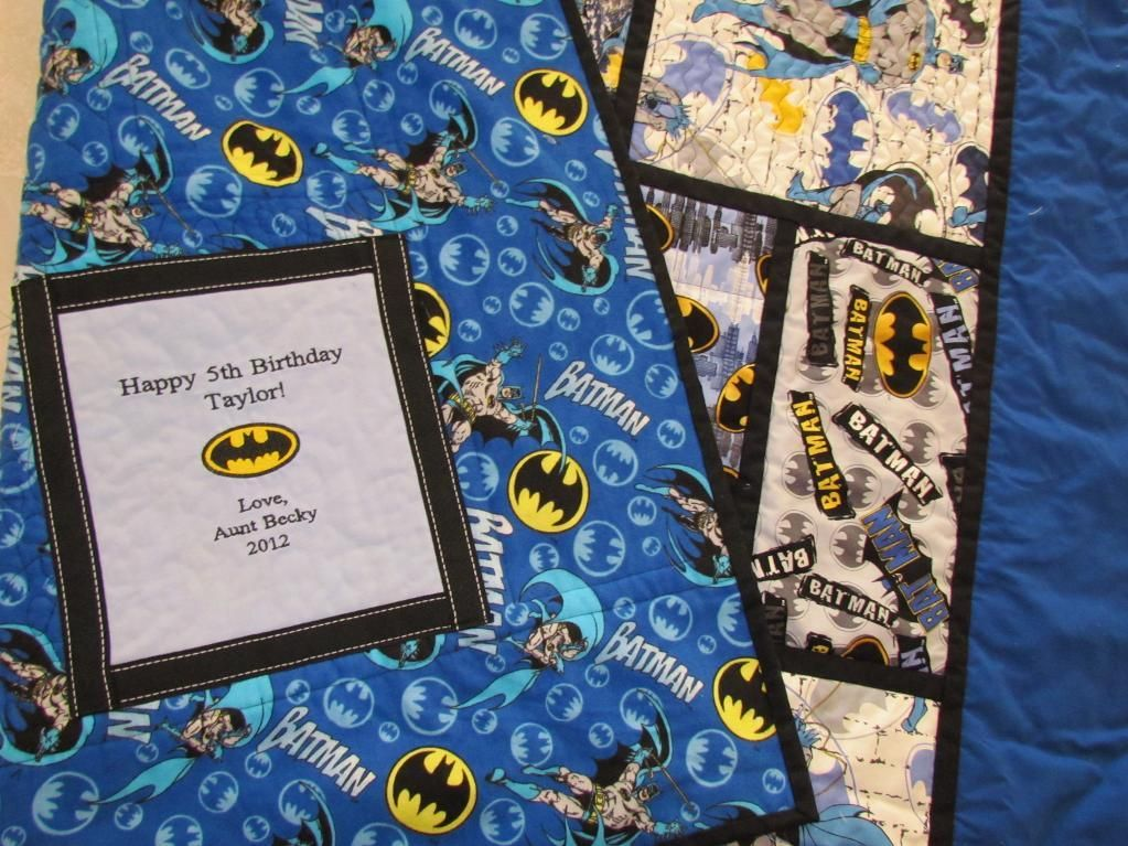 Quilting Ideas Project On Craftsy Batman Quilt | Batman quilts ... : batman quilt pattern - Adamdwight.com