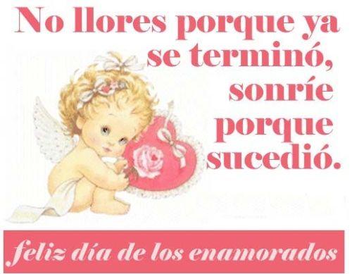 Frases De San Valentin No Llores Porque Ya