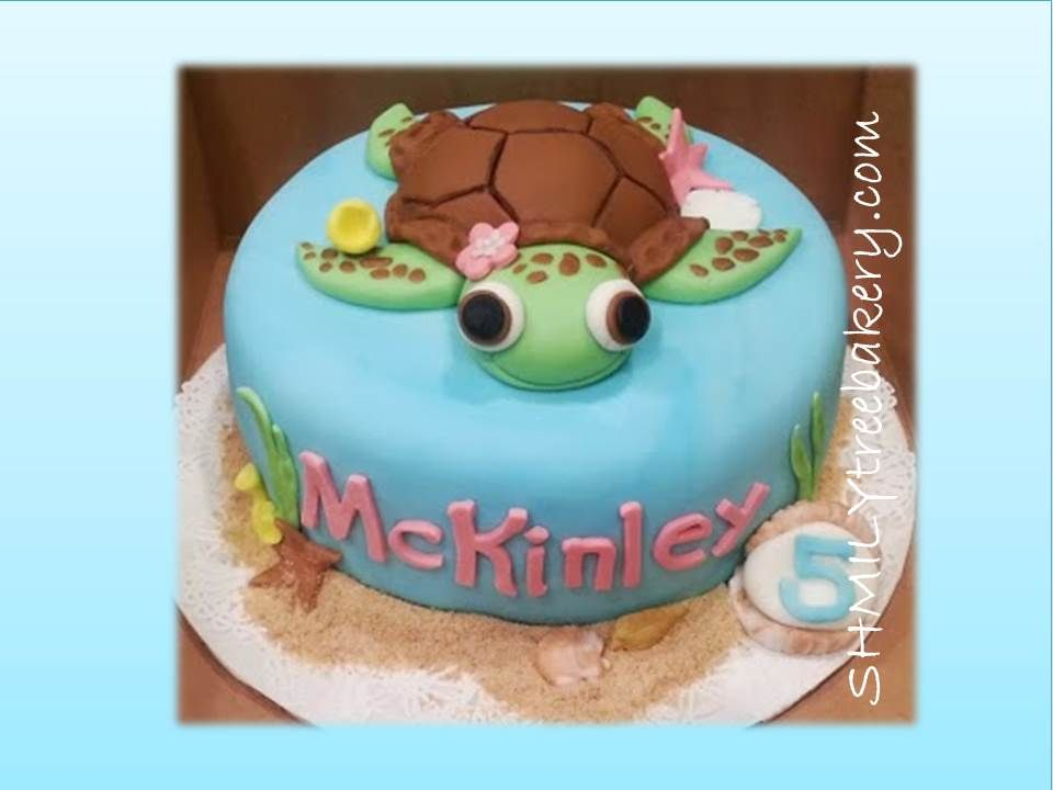 Planning on doing a sea turtle birthday cake for Aliyahs birthday