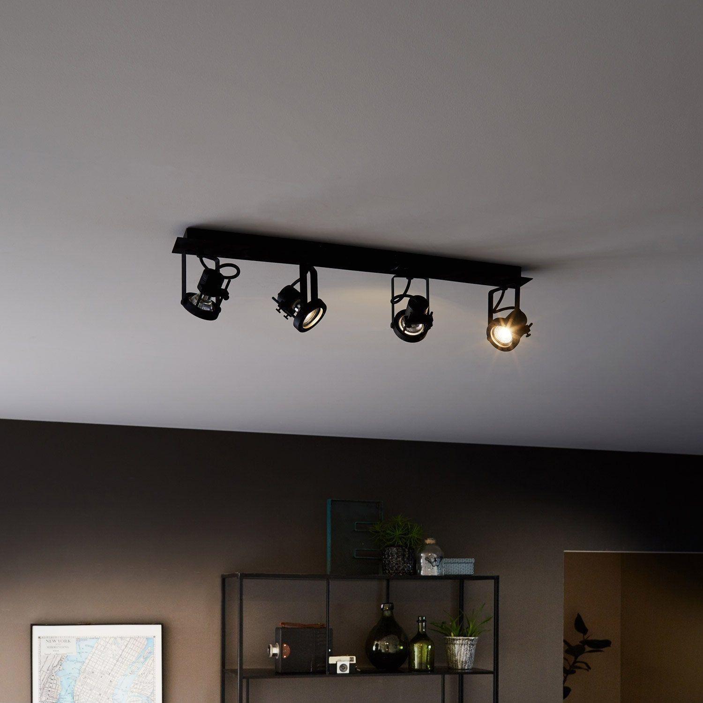 Spot Fer Noir Inspire Technic Industrial House Track Lighting Home Decor