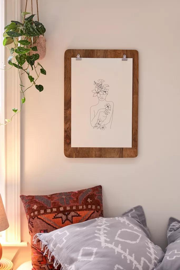 Photo of Bilderrahmen der Zwischenablage aus Holz