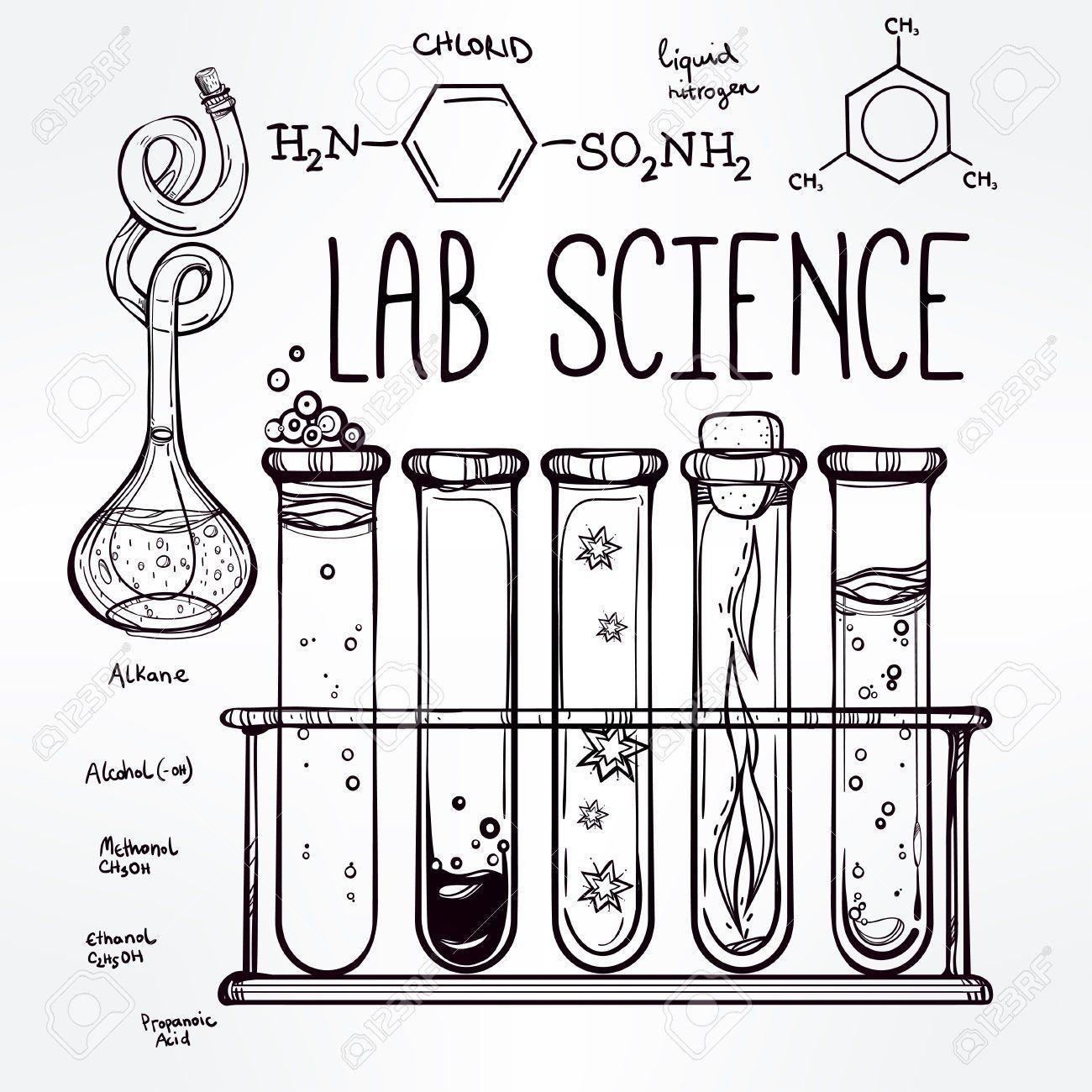 Resultado de imagen para quimica dibujo para caratula