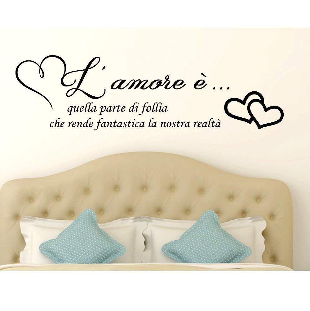 Stickers Murali Frasi.Adesivi Murali Frasi In Italiano Amore Adesivo Murale Wall