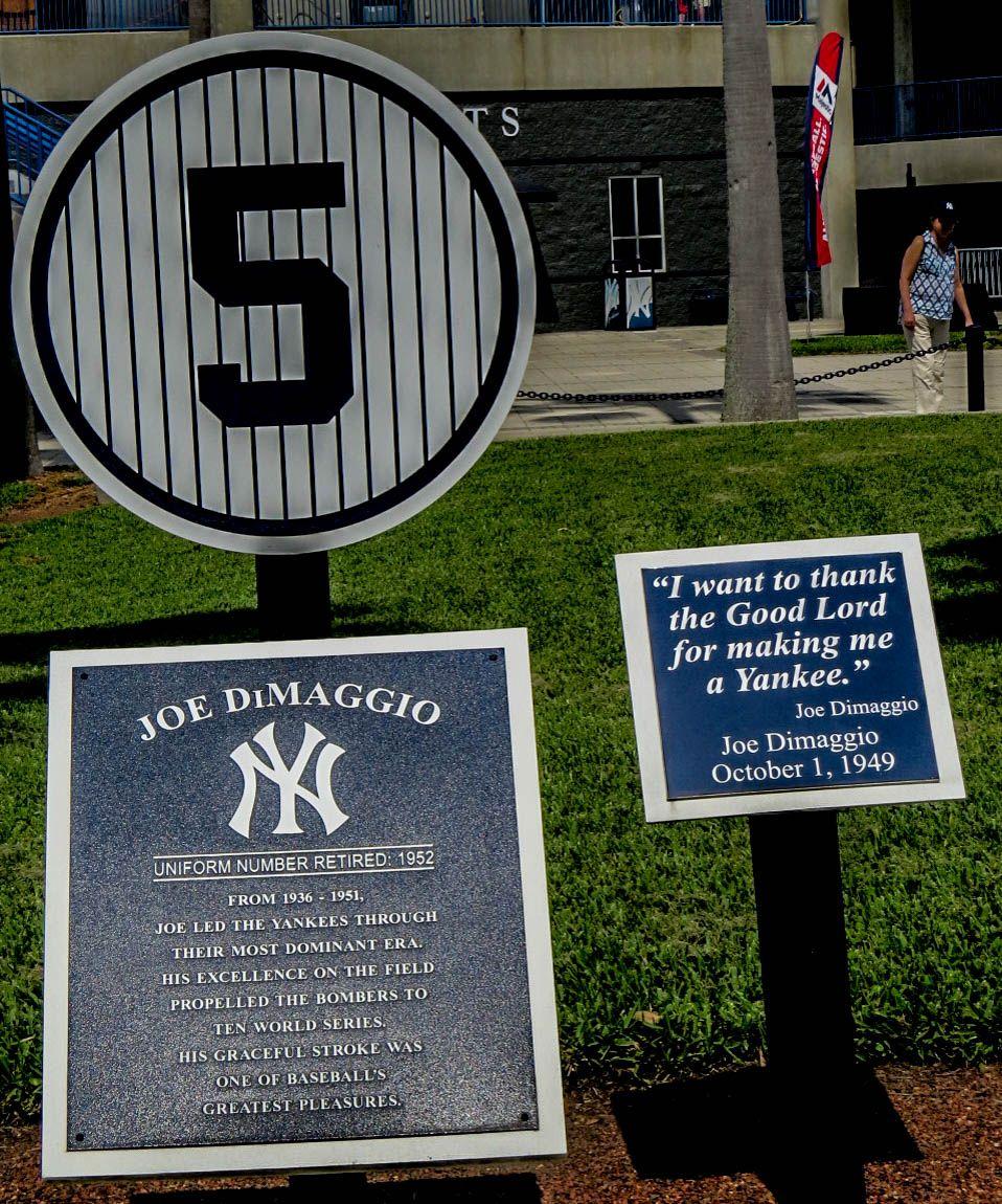 Monument Park George M Steinbrenner Field Photo By Mike Keenan Read Articles At Www Whattravelwriterssay Com Monument Park Derek Jeter New York Yankees