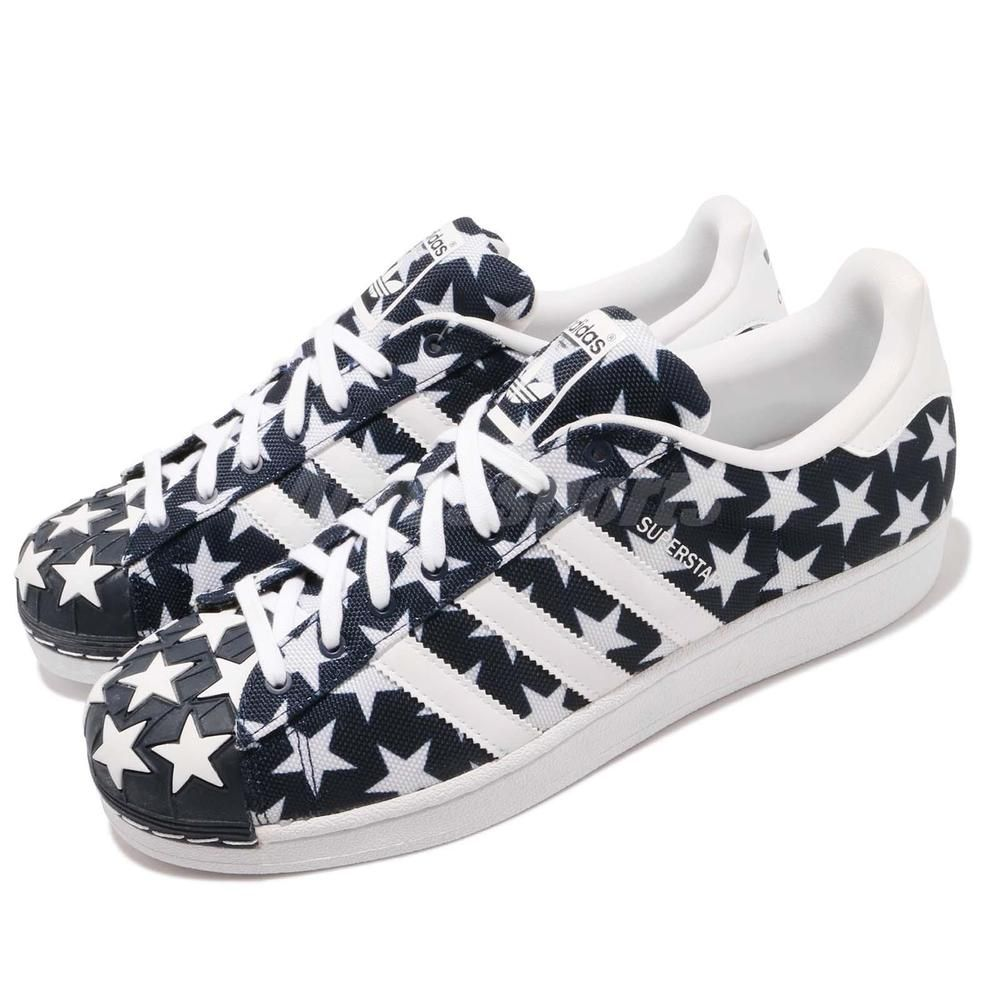 073108f0802 adidas Originals Superstar Shell Toe Pack Star Navy Men Casual Shoes S75184   fashion  clothing  shoes  accessories  mensshoes  athleticshoes