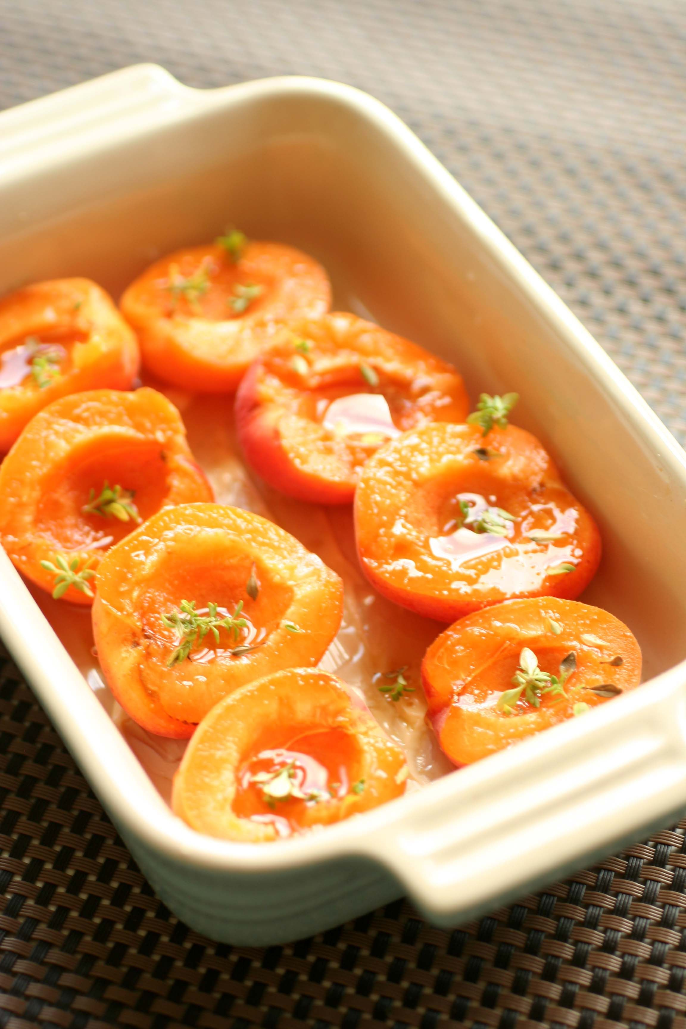 Image result for baked apricots