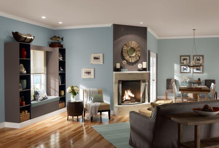 Choosing a Palette for An Open Floor Plan   Condo living ...