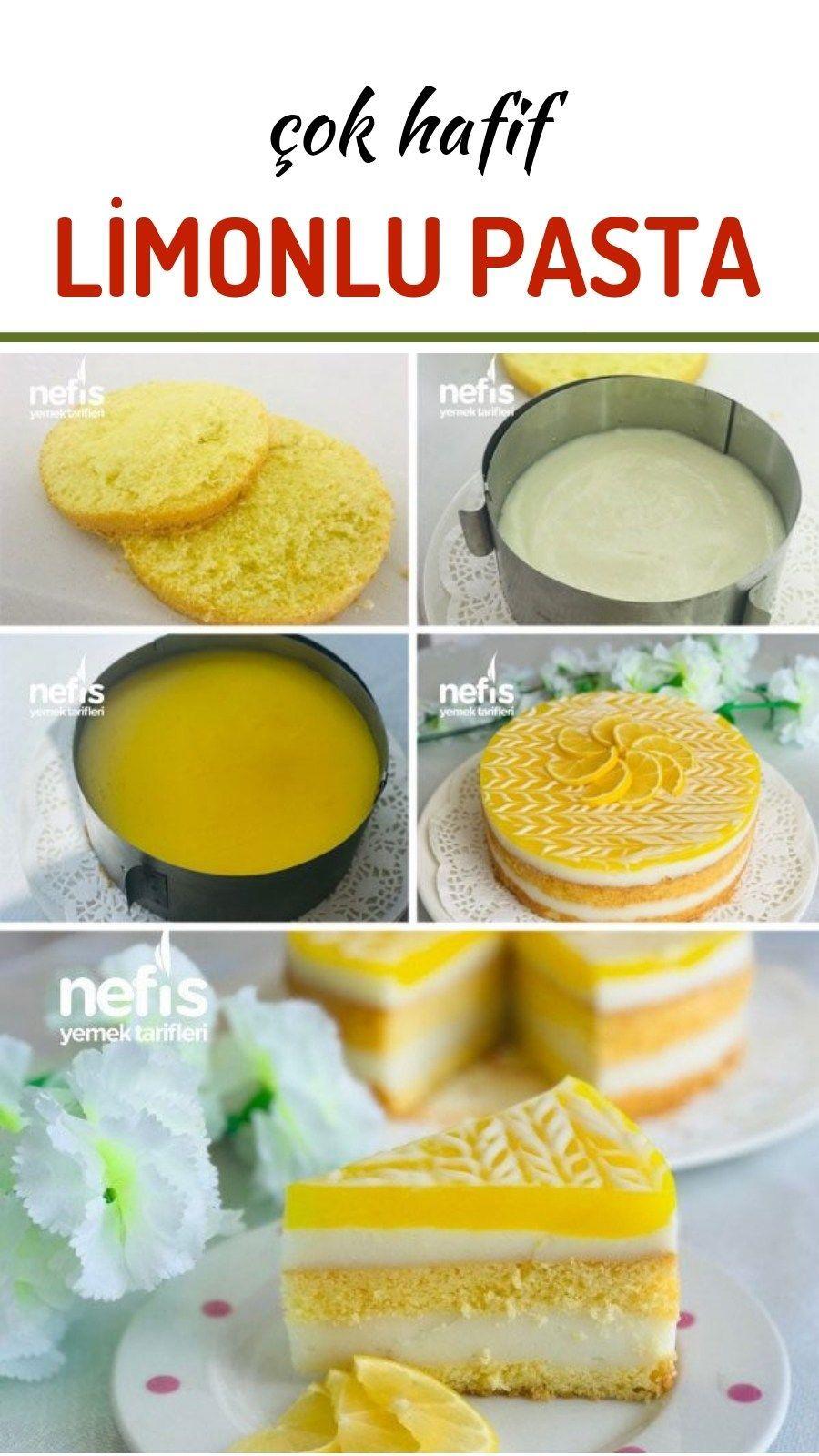 Sehr heller Zitronen-frischer Kuchen - leckere Rezepte ...