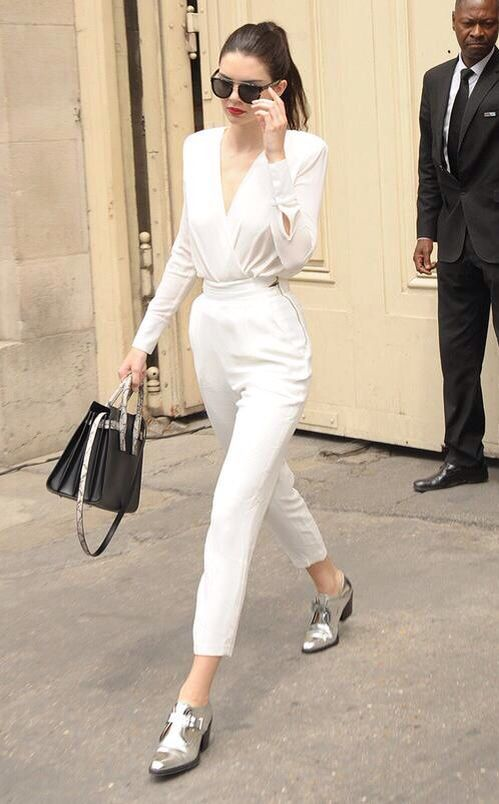 Kendall Jenner's Chic Street Style   casual but cool outfit  