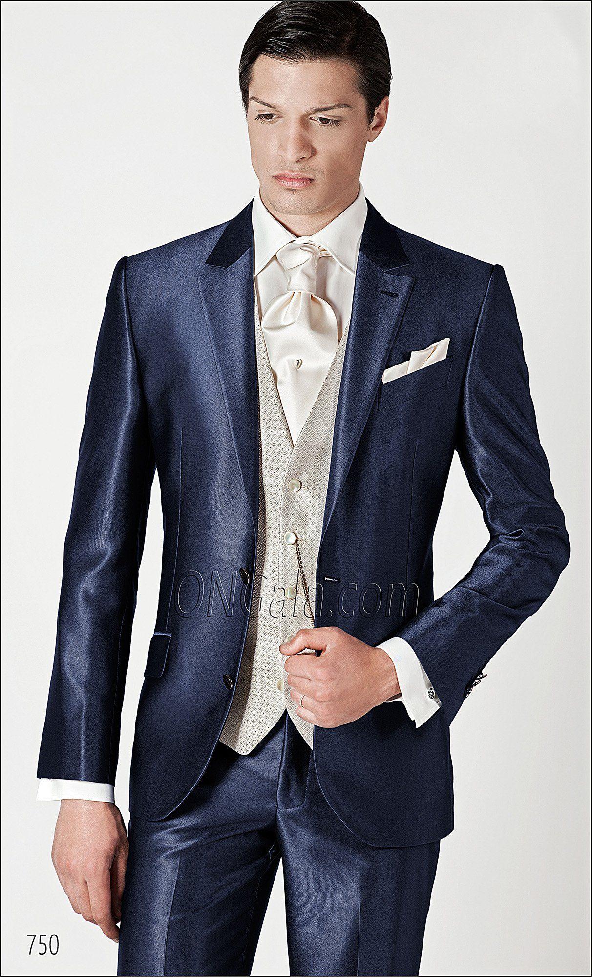 Ongala 750 Brautigam Anzug Blau Anzuge Hochzeit Pinterest
