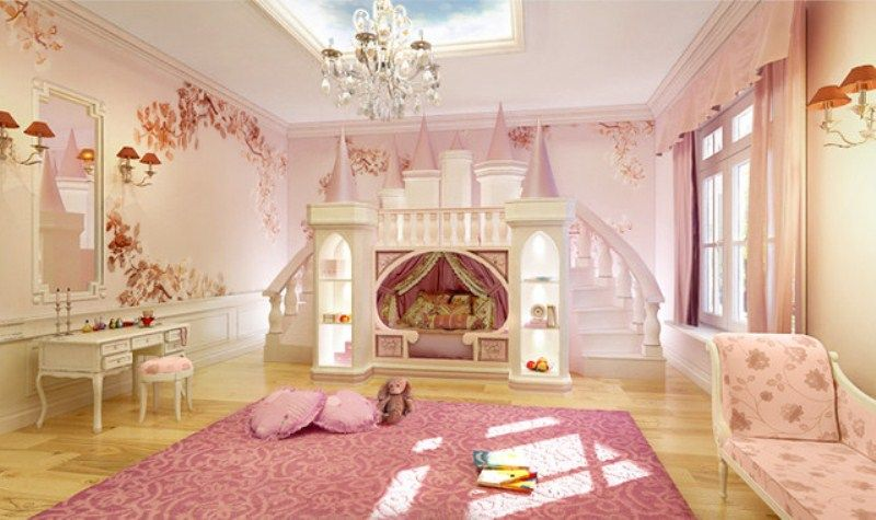 Good Princess Castle Bed Theme   Princess Room Decoration For Your .